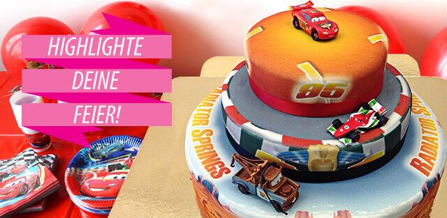 Cars Torte Mcqueen Torte Bestellen Deinetorte De