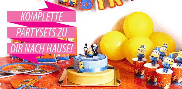 Partyset für Kindergeburtstag und Motto-Party
