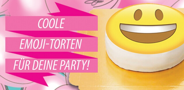Smiley- & Emoji-Torten online bestellen