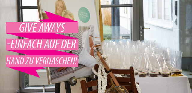 Kundengeschenke: Give Aways für Firmenevents & Messen