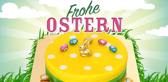 Oster-Torte, Torte zur Osterfeier