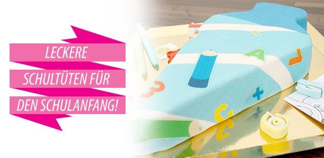 Einschulungstorte, 1. Schultag-Torte bestellen!