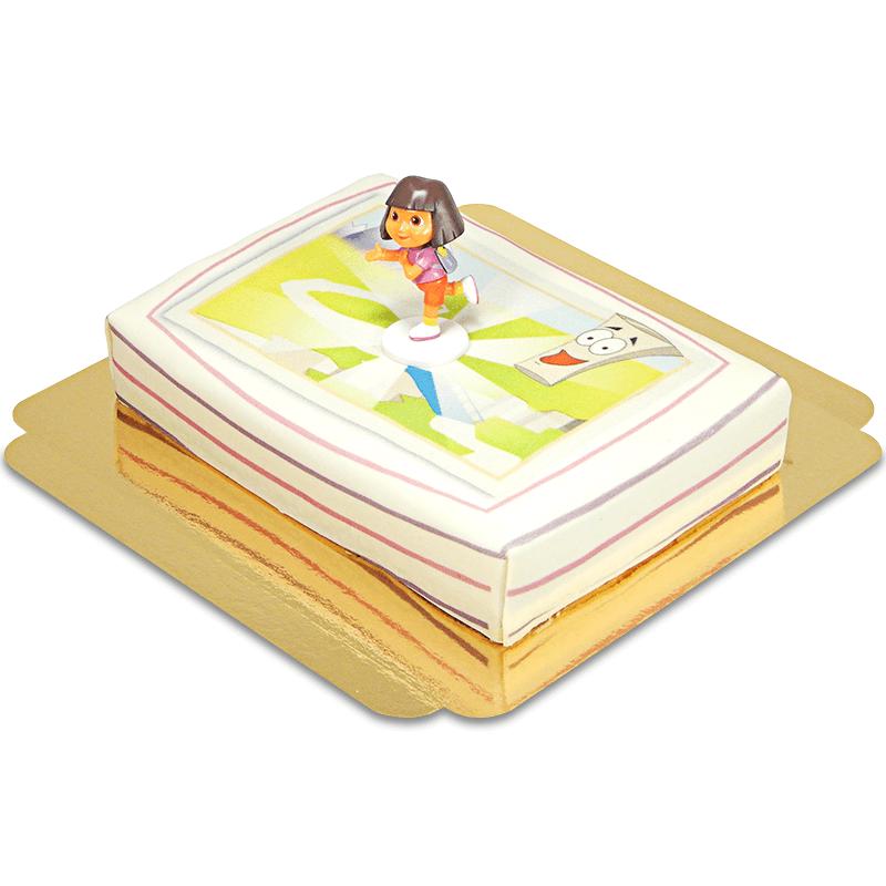 Dora auf Abenteuer Torte