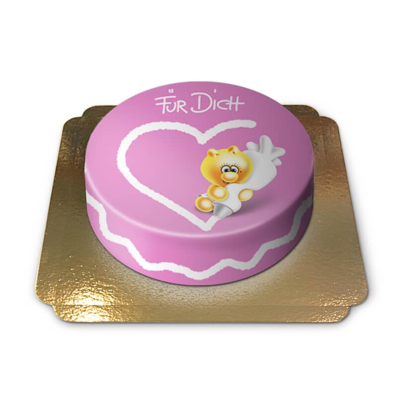 Gelini Herz Für Dich Torte