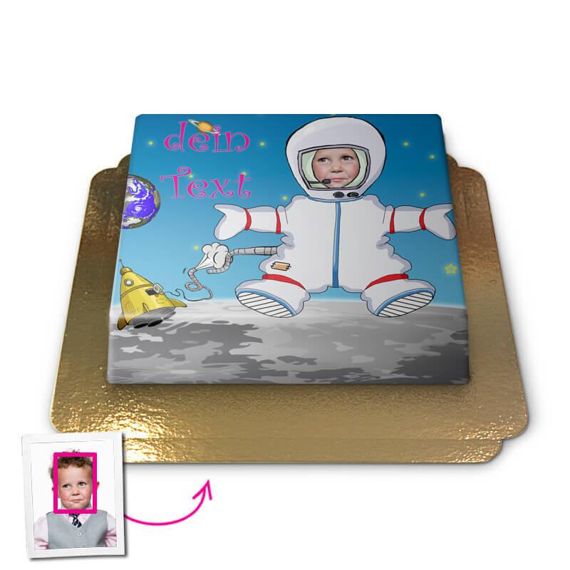 Astronaut, Face Cake