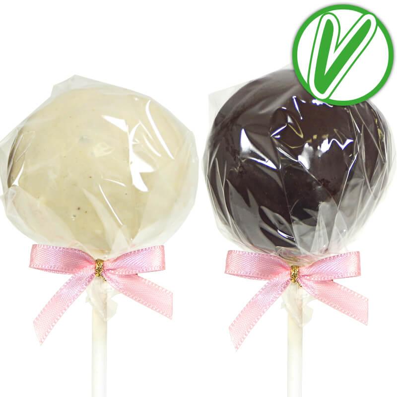 Vegane Cake Pops (12 Stück)