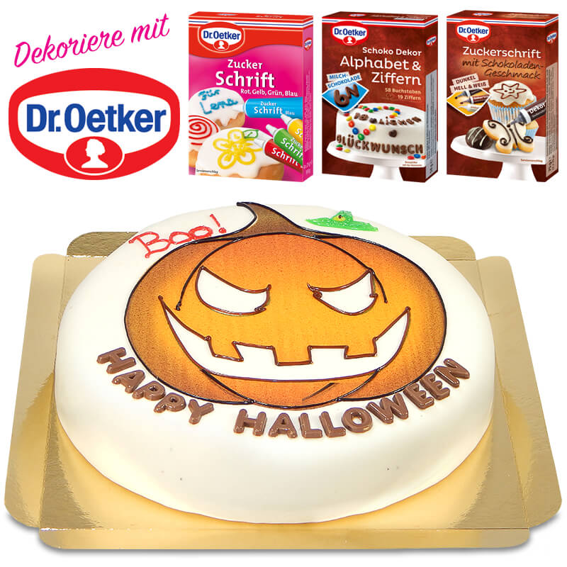 Dr. Oetker Halloween Torte