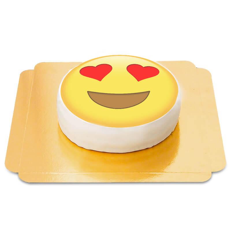 Verliebtes Emoji Torte