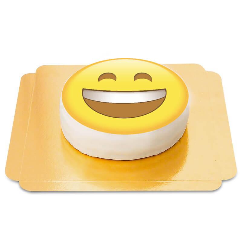 Lachender Emoji Torte
