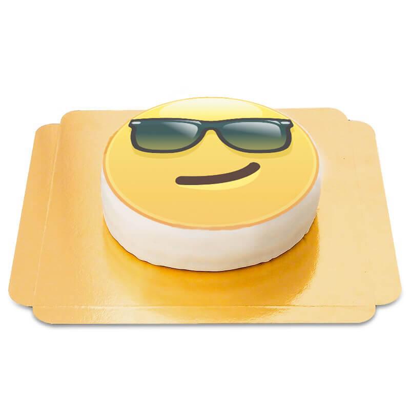 Cooler Emoji Torte
