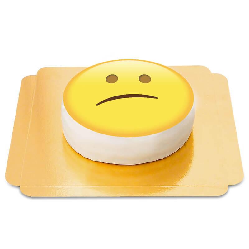 Enttäuschter Emoji Torte