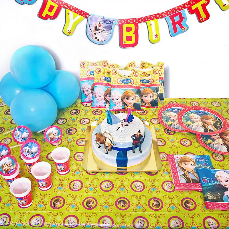 Eiskönigin Partyset Frozen inkl. Torte