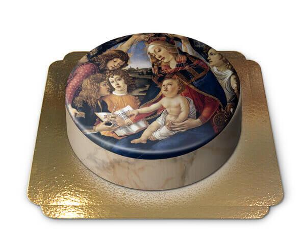 """Kommunion Torte """" Heilige Maria """""""