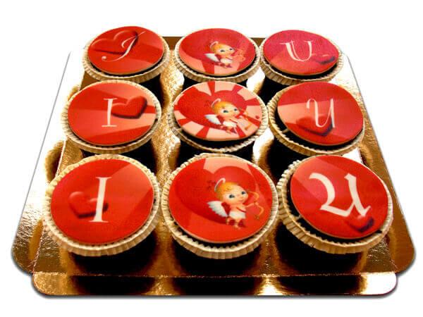 I Amor U Cupcakes