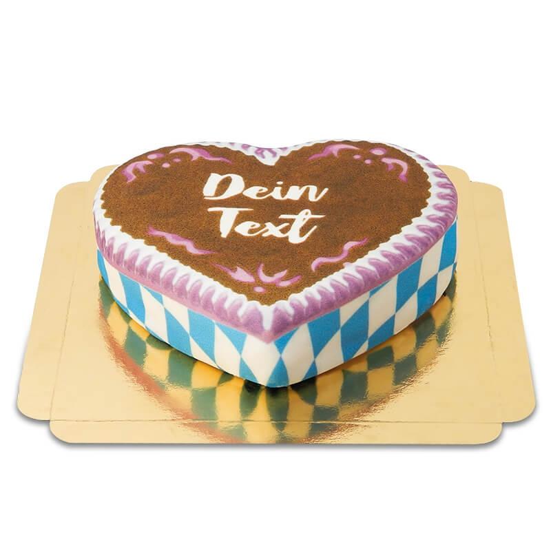 Lebkuchenherz Torte