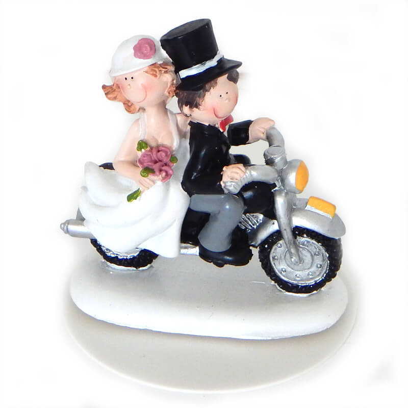 Romantisches Brautpaar, Tortenfigur