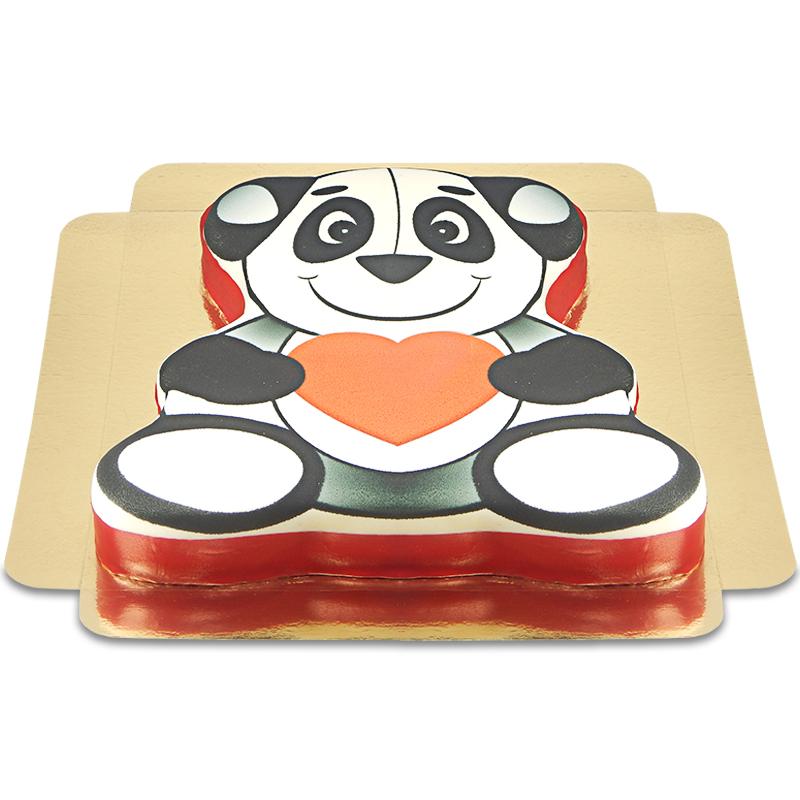Panda Bären Torte