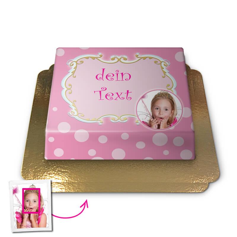 Grüße in Pink, Face Cake