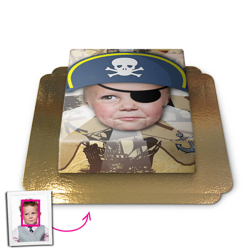 Pirate, Face Cake