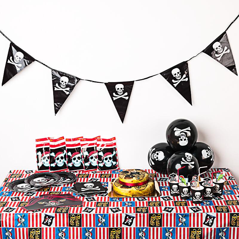Piraten Partyset inkl. Torte
