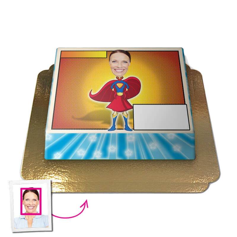 Superfrau, Face Cake