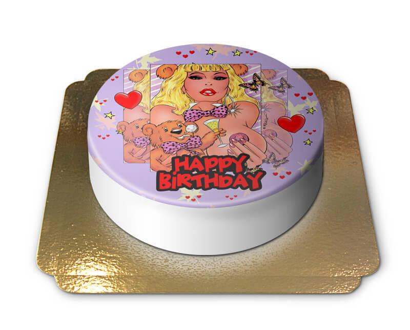 Erotische Geburtstagstorte