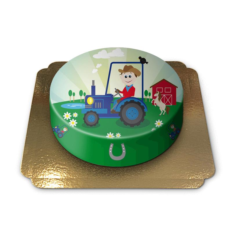 Traktor Kinder Torte