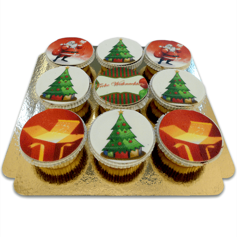 Weihnachts Cupcakes
