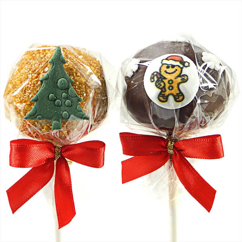 """Cake Pops """" Weihnachten """" (12 Stück)"""