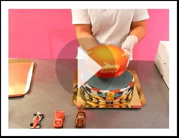 2-Stöckige Torten aufstellen Video
