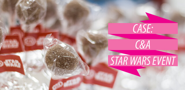 C&A Case, Star Wars Event mit Cake pops