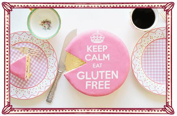 Glutenfreie Torte - Vanille-Himbeertorte