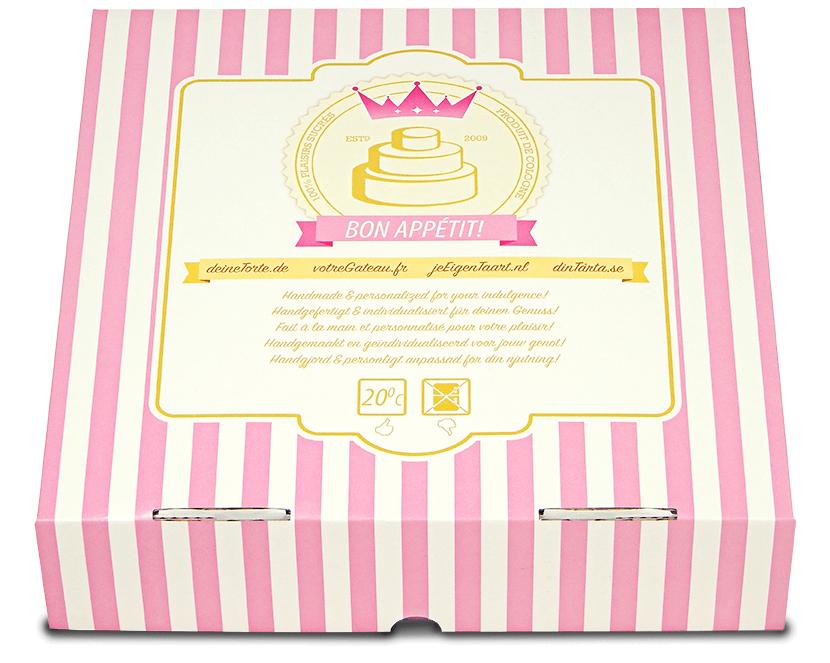 Tortenverpackung