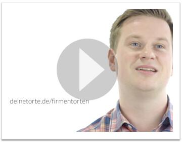 Firmentorten-Video von deineTorte.de