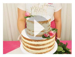 Gestalte deinen Naked-Cake