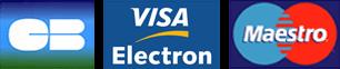 Debitkarte - Visa Electron, Maestro und Carte Bleue
