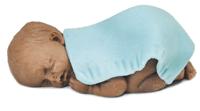 Dunkelhäutiges Baby