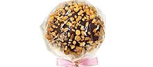 Dunkle Schoko mit gerösteten Haselnüssen & Schoko-Cake