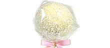 Weiße Schoko mit Kokosraspel & Vanille-Cake