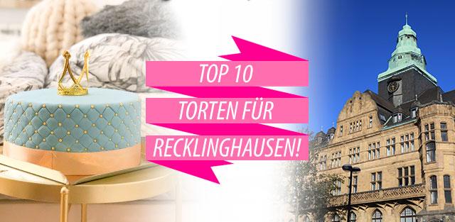 Torten nach Recklinghausen bestellen!