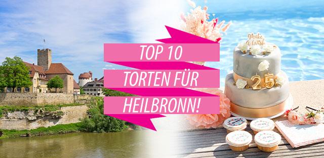 Torten nach Heilbronn bestellen!