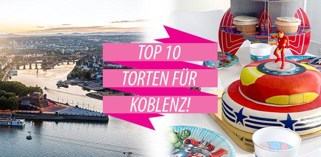 Torten nach Koblenz bestellen
