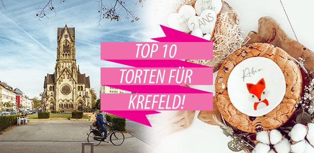 Torten nach Krefeld bestellen!