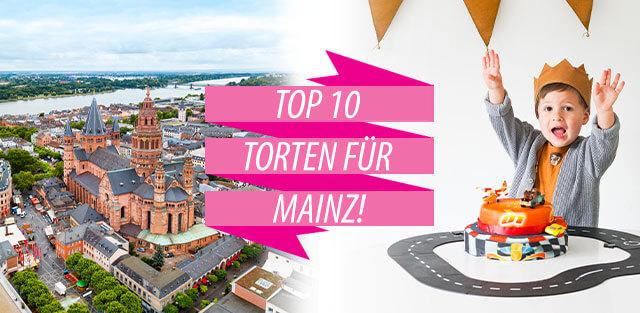 Torten nach Mainz bestellen!