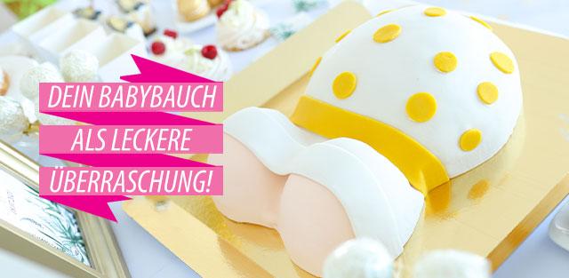 Babybauch-Torten