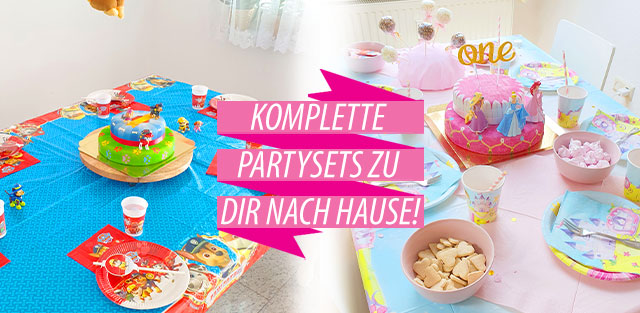 Kinderpartysets