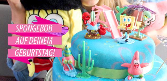 SpongeBob Schwammkopf auf Torten