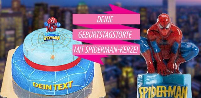 Spider-Man Torten