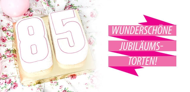Jubiläums-Torten