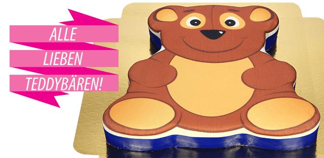 Teddybären Torten